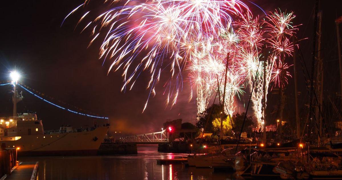 Grand Pavois 2015 - le grand retour du feux d'artifice de samedi !