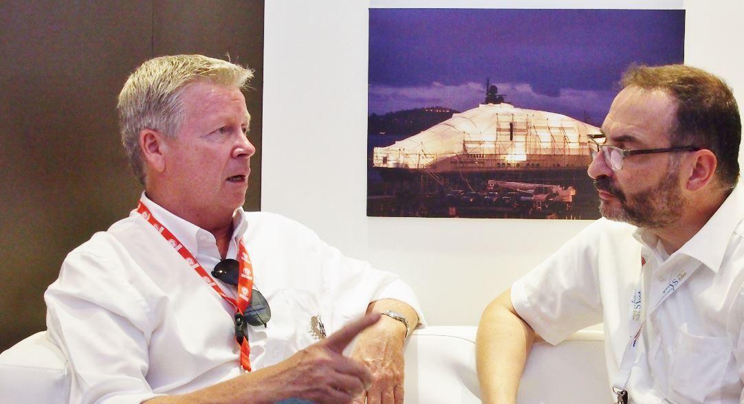 Denis Pellegrino, président d'IMS 700 avec N. Venance