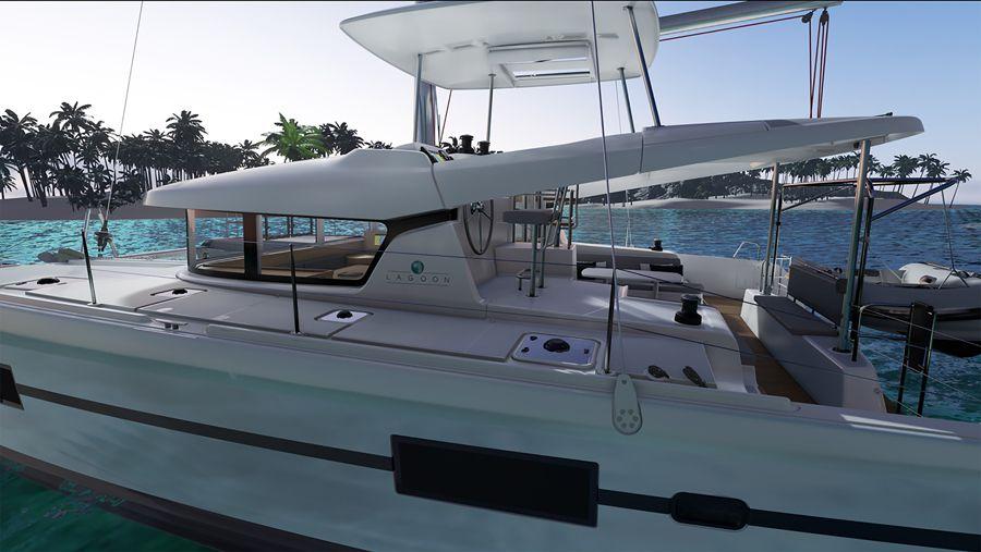 SCOOP - premiers visuels du nouveau catamaran Lagoon 42
