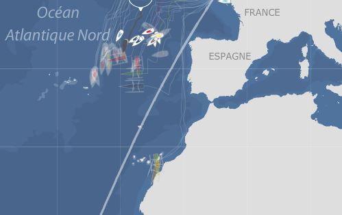 Léger répît avant les Açores dans la Transat Jacques Vabre