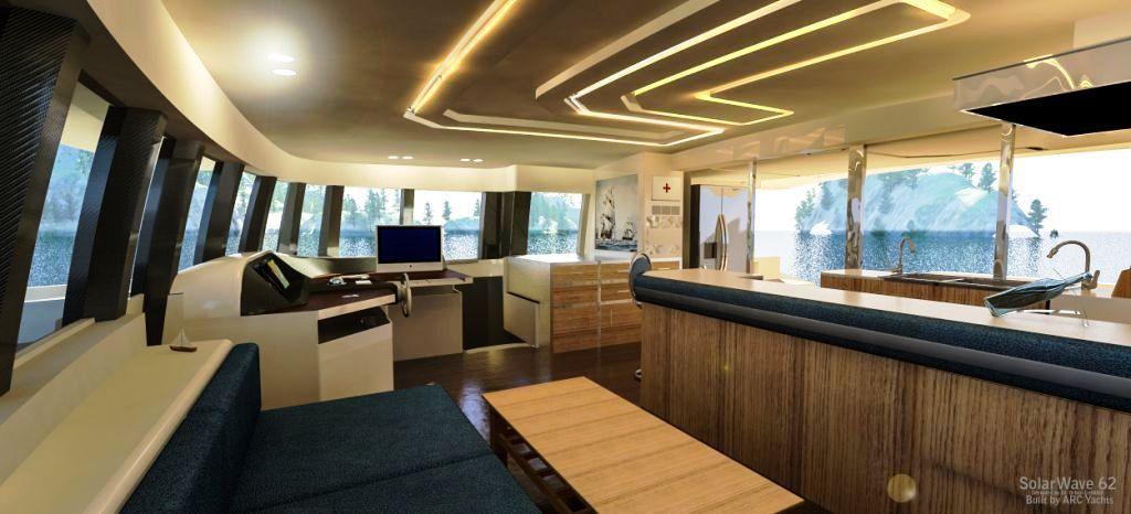 Le premier motoryacht zéro émission sera un catamaran