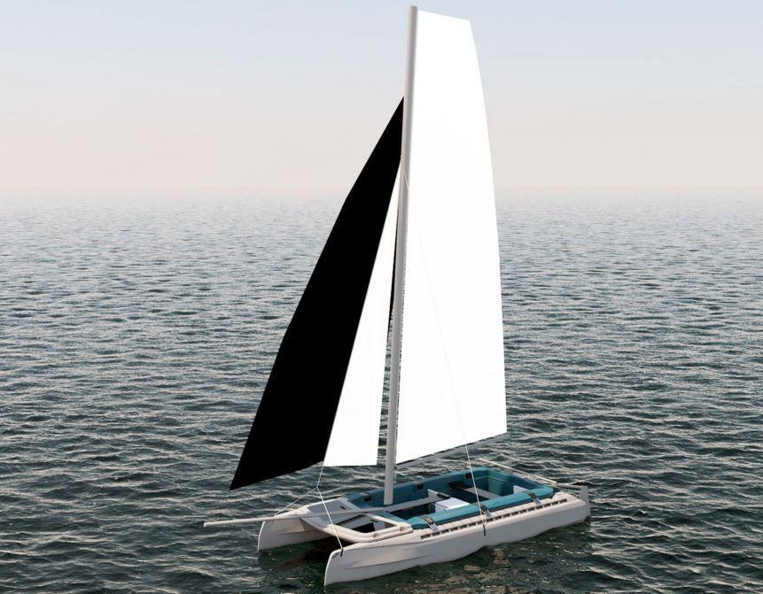 Concept NAU catamaran de loisir