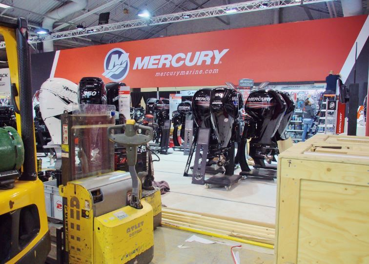 Mercury Marine se distingue au Nautic de Paris