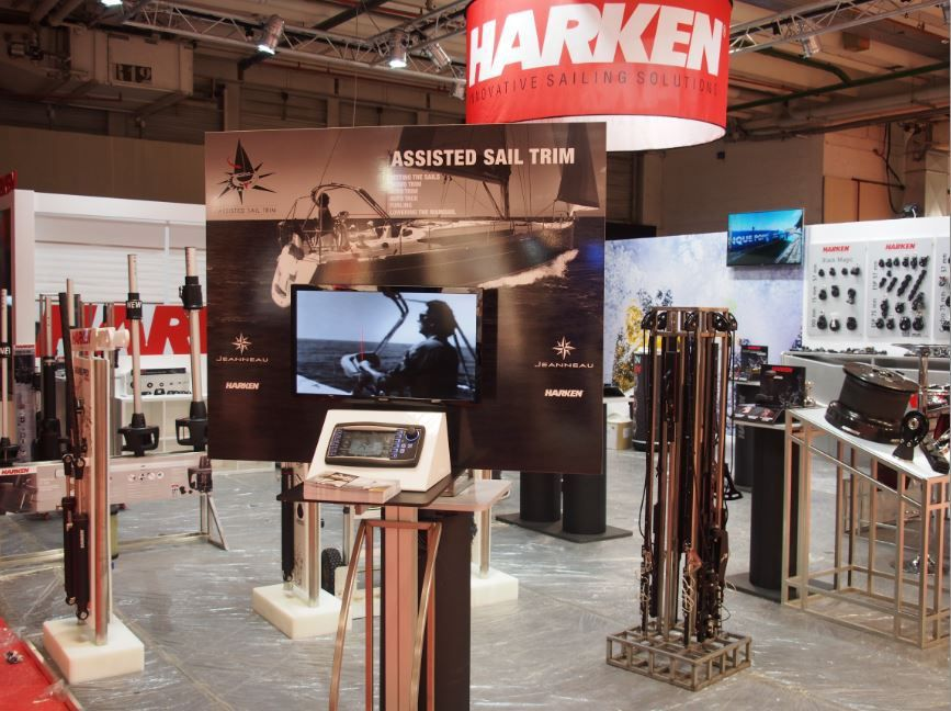 Nautic 2015 - Harken met en avant l'Assisted Sail Trim (AST)