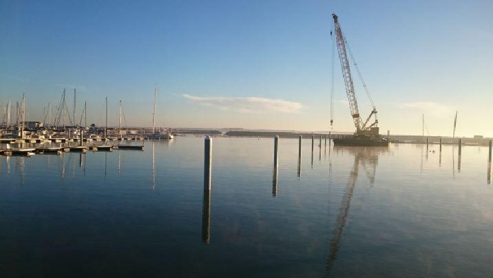 700 nouvelles places en cours d'aménagement à Port Médoc (33)