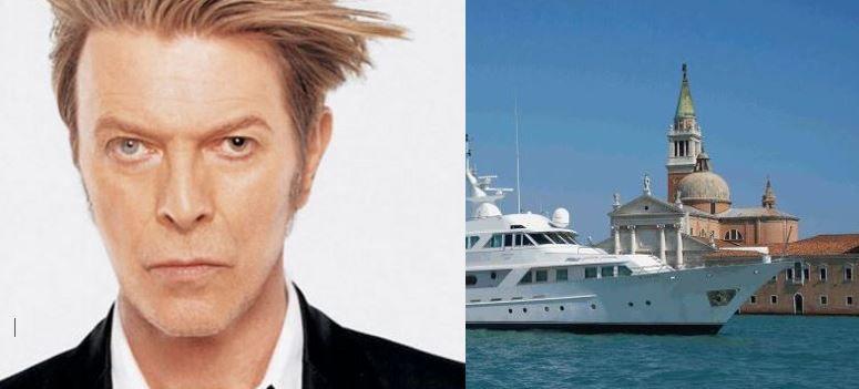 Deneb Star C, l'ancien superyacht de David Bowie est à vendre