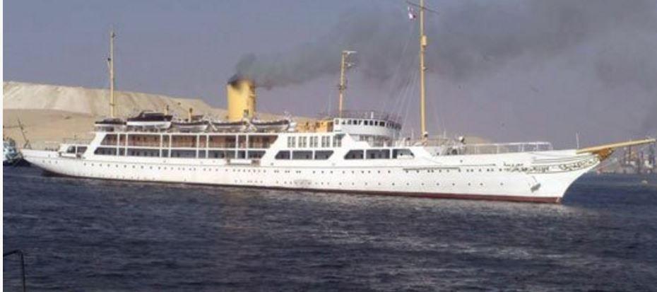 Super Yacht El Horriya, le yacht présidentiel égyptien