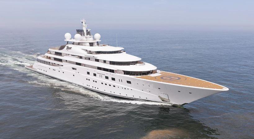 le top 5 des plus grands yachts du monde au 1er janvier. Black Bedroom Furniture Sets. Home Design Ideas