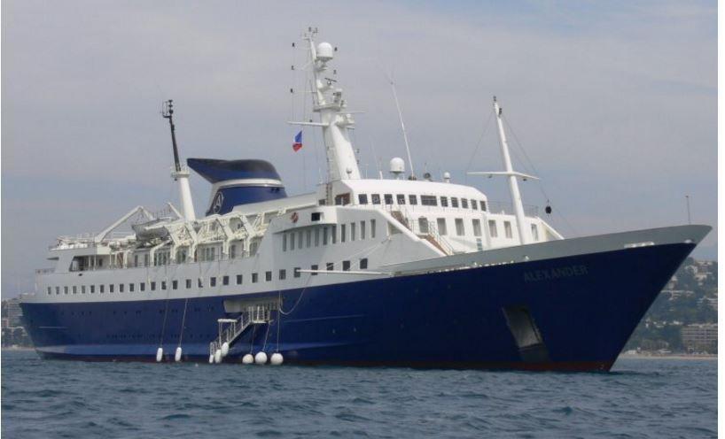 Super Yacht Alexander, de la famille grecque de Spiros Latsis