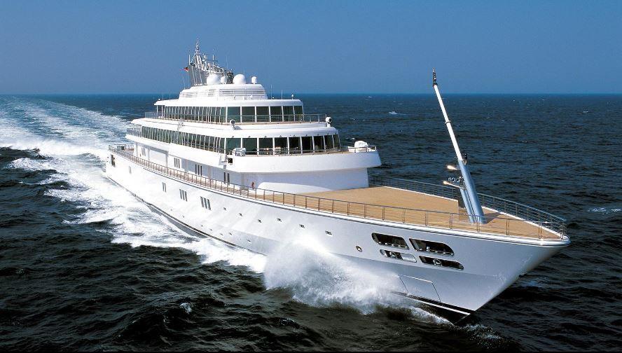 Super yacht Rising Sun, le megayacht du fondateur de la société Oracle, Larry Ellison