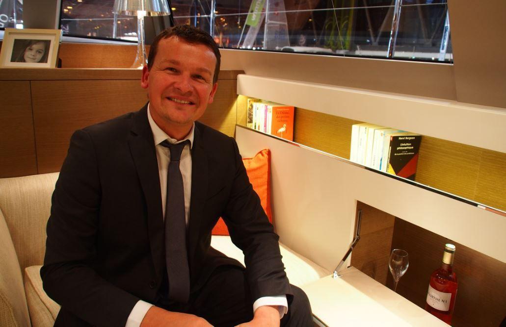 Marc Renwick, de la société Yacht Solutions : aider les propriétaires de yachts à équiper leur bateau, avant d'en prendre possession.
