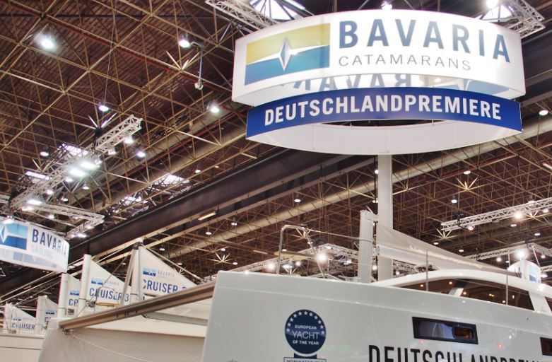 Sur le Boot 2016, Bavaria a retenu près de 50% de la surface du Hall 17