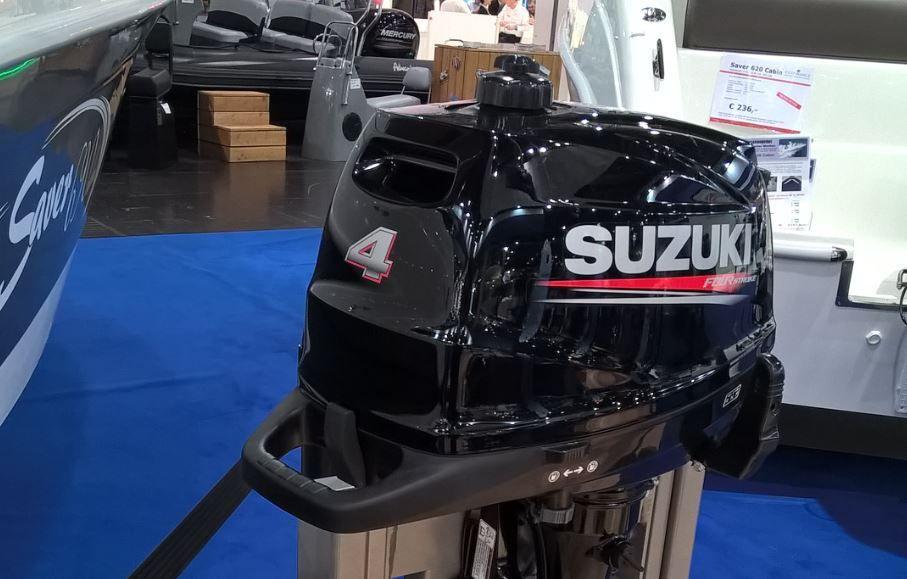 Les Directs du Boot - Suzuki lance 3 moteurs hors-bord portables de 4, 5 et 6cv
