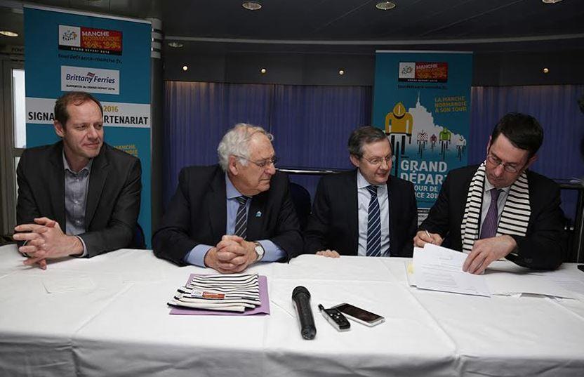 Tour de France 2016 - Brittany Ferries embarque pour la Grande Boucle