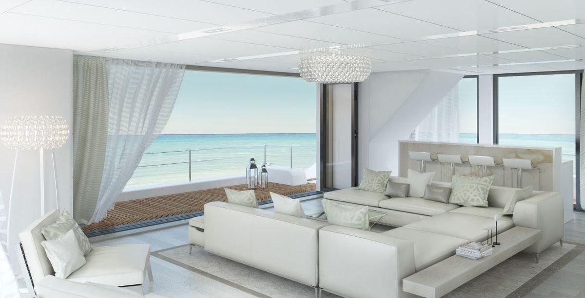 Sunreef 68 : l'habitabilité d'un superyacht, sur un catamaran de luxe de 68 pieds !!