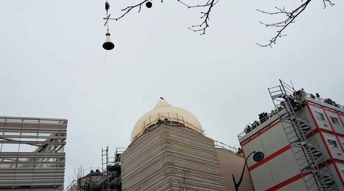Un chantier naval vannetais couvre la nouvelle cathédrale Russe de Paris