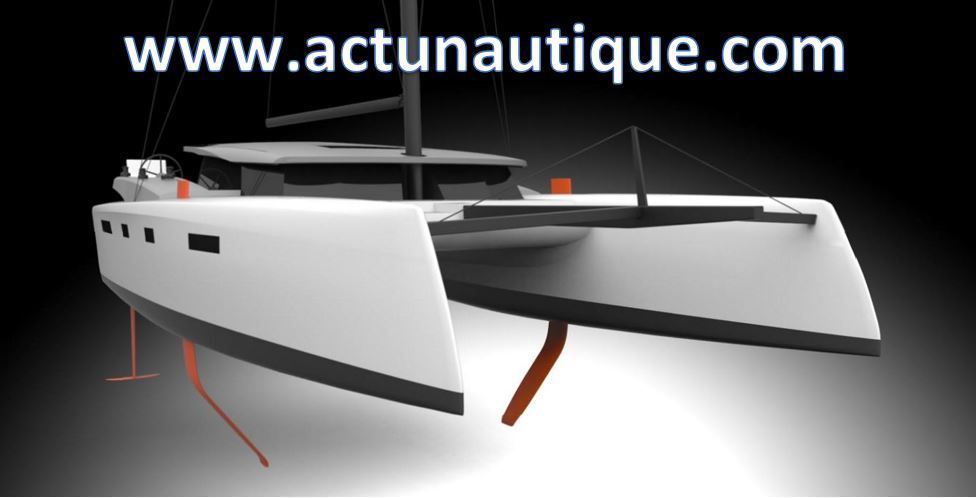 Scoop - Le chantier North Wind Yachts annonce son premier catamaran, avec ou sans foils