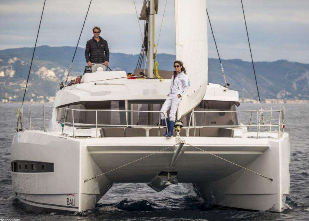 SCOOP - une nouvelle version inattendue du catamaran Bali 4.0