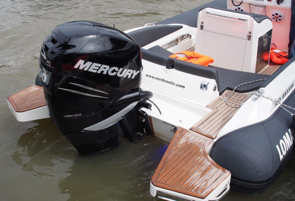 Mercury Marine fait tester ses nouveautés lors des Boat en Seine