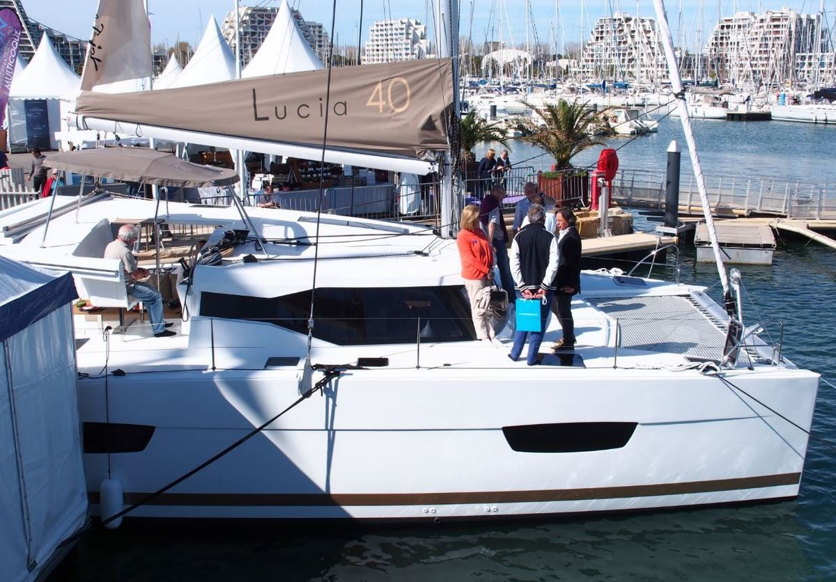 Salon International du Multicoque - 80 catamarans Fountaine-Pajot Lucia 40 déjà vendus