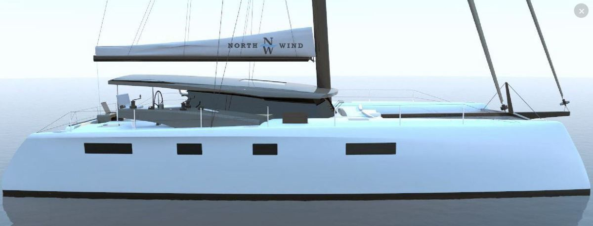 Innovation - les surprenants postes de barre latéraux du catamaran North Wind 55