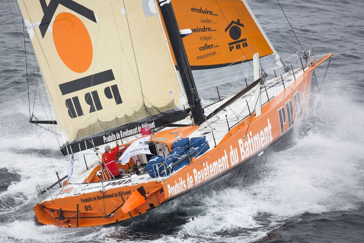 The Transat Bakerly - nuit de changements, au changement de jour