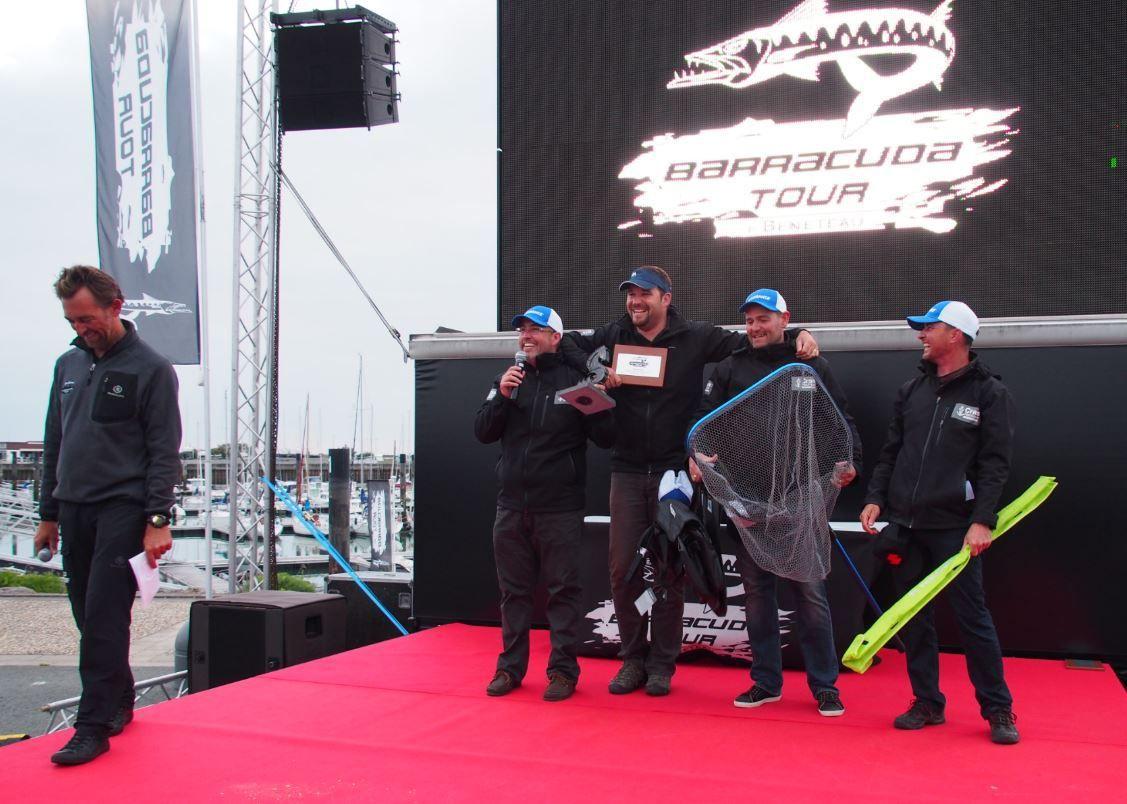 1er du Barracuda Tour 2016 - la concession Cras Nautique Bénéteau