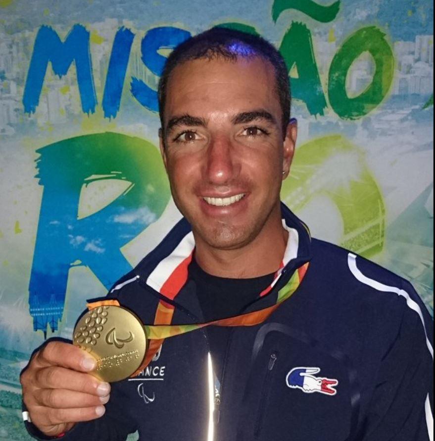 Médaille d'Or en voile 2.4 aux Jeux Paralympiques pour Damien Seguin