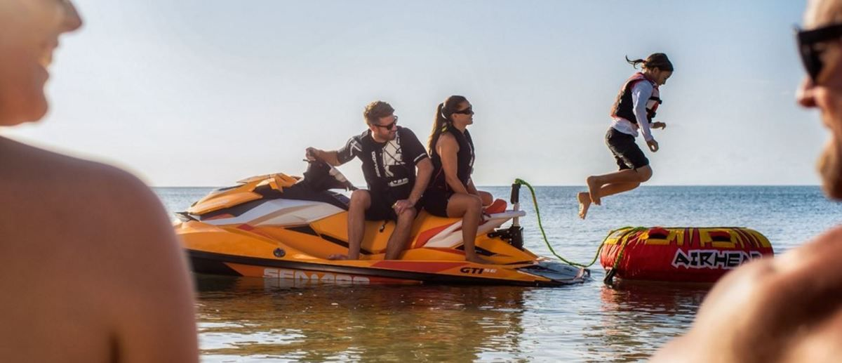 A Royan (17), les motomarines Sea-Doo cartonnent