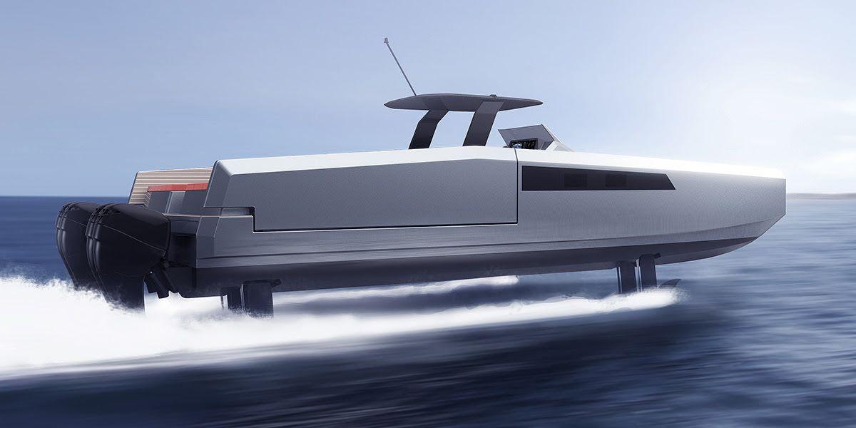 Sunreef lance la première vedette catamaran open de série, dotée de foils