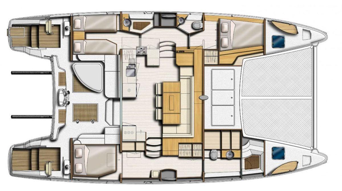 Vidéo - découverte du nouveau Catana 47 Easy, le catamaran de grand voyage hautes performances