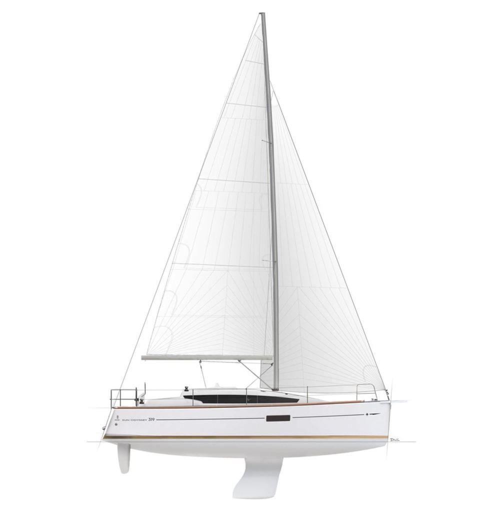 Scoop - avec le Jeanneau Sun Odyssey 319, Jeanneau revient sur le marché des petits voiliers familiaux