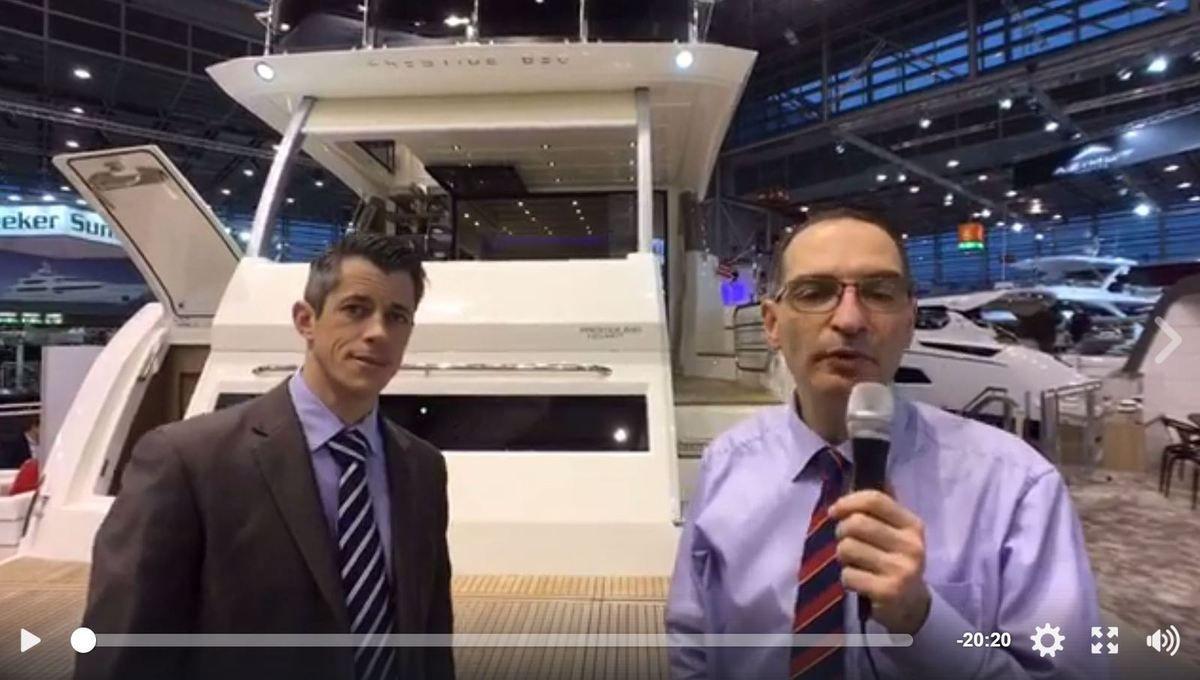 Vidéo - visite guidée de la Prestige 630 Fly