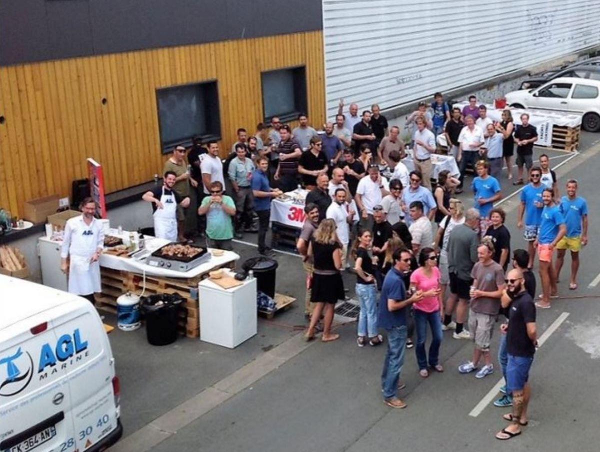 Plus de 200 professionnels attendus le 28 juillet, au barbecue annuel d'AGL Marine et d'IBA La Rochelle (17)