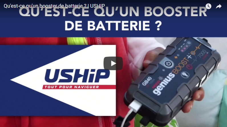 Video Comment Utiliser Un Booster De Batteries Actunautique Com