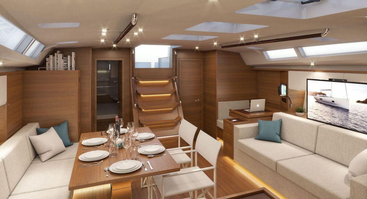 Premiers visuels du plus gros voilier de Bavaria, le futur Bavaria C65 !