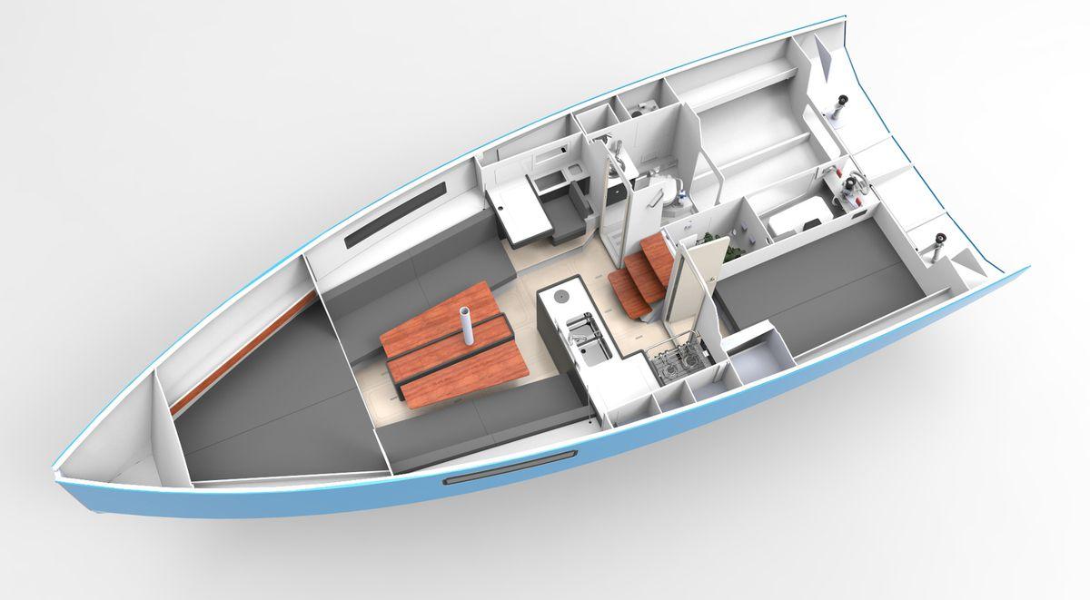 Nautisme - Le RM 970 remporte le prix de Voilier de l'année en Italie !