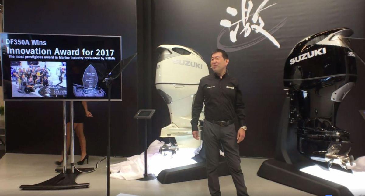 Festival de nouveautés chez Suzuki Marine... dont un Scoop !