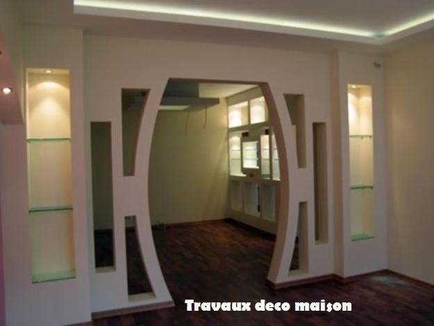 Placoplatre Dessin Decor : Placoplatre ba travaux deco