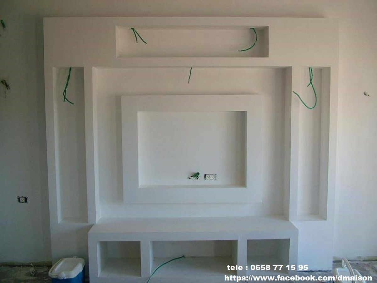 Placoplatre ba13 travaux deco for Decoration salon avec ba13