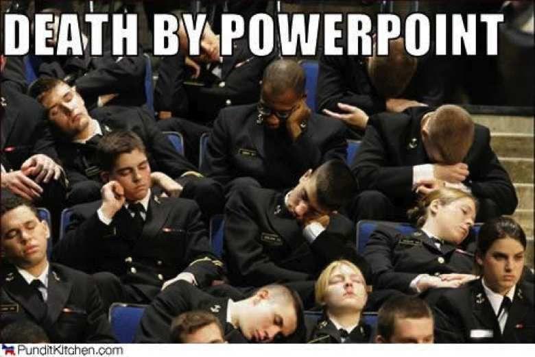 L'assassinat par PowerPoint