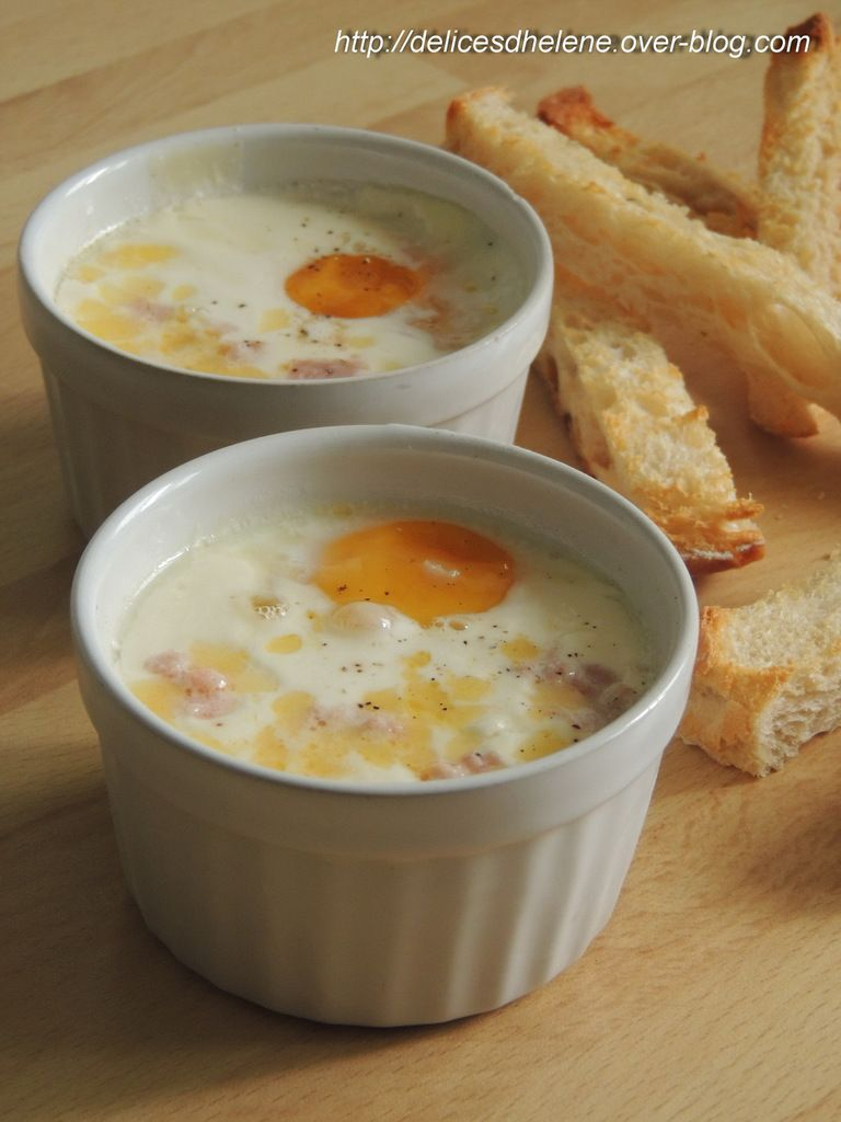 OEUF COCOTTE JAMBON-COMTE