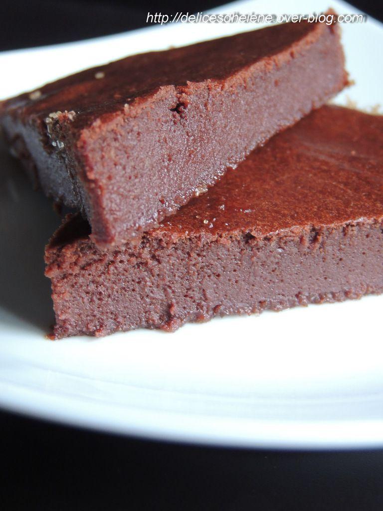 Fondant Au Chocolat Sans Beurre Et Sans Complexes Les Délices Dhélène