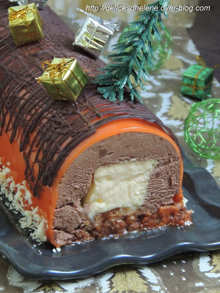 BUCHE CHOCOLAT- GRAND MARNIER