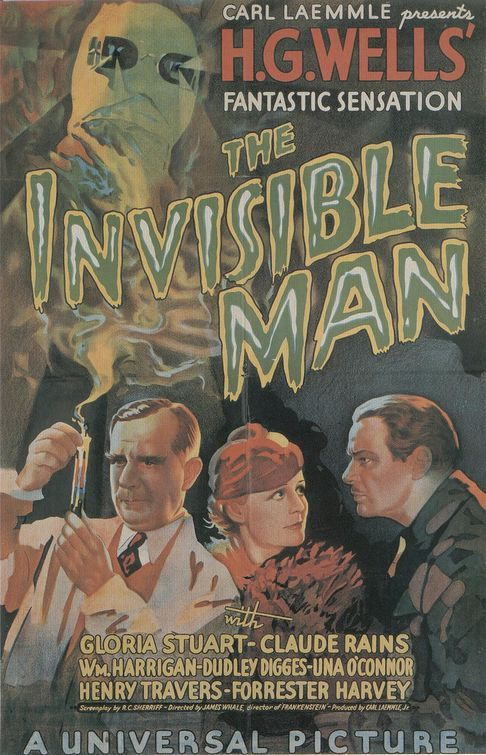 """Invisible Man"" de Carl Laemmle (1933)"