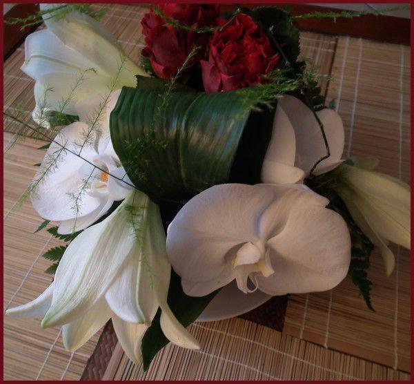 Margaux et ses fleurs.... Bol d'air
