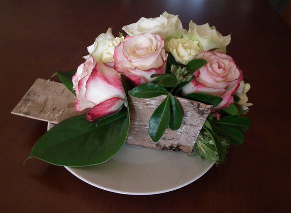 Margaux et ses fleurs.... toujours en février