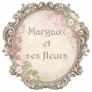 Margaux et ses fleurs....Compo d'anniversaire