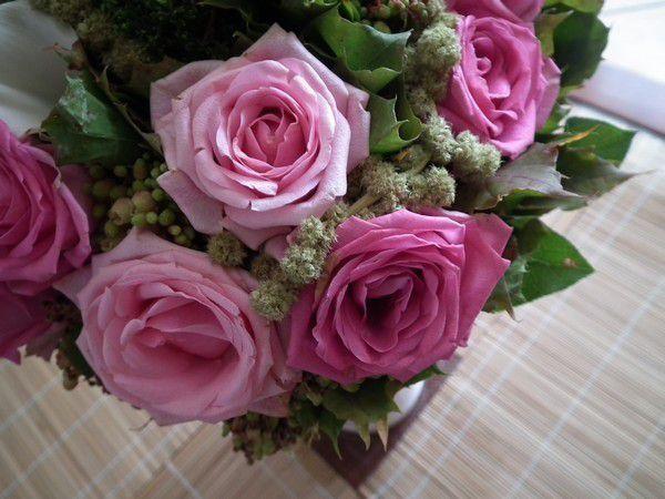 Margaux et ses fleurs.... bouquet du week-end ... yesss