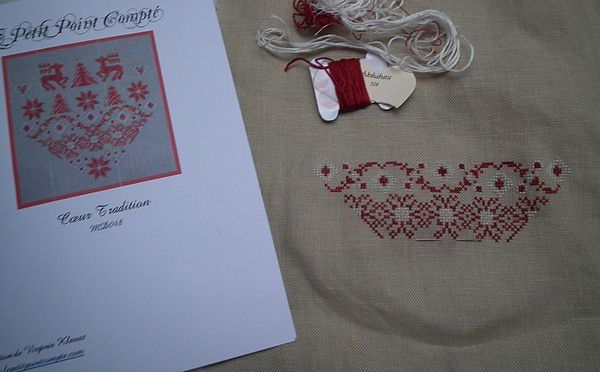 Coeur tradition - Petit Point Compté - 2